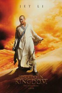 THE FORBIDDEN KINGDOM Movie POSTER 27x40 E Jet Li Jackie ...