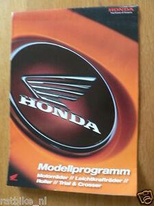 HAP-333 HONDA REPSOL CBR FIREBLADE POSTER PROSPEKT & 2009 MODELLE GERMAN 16 PAGE