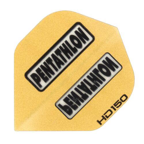 Extra Stark 150 Micron 15 Pentathlon HD150 Standart Flights Gold