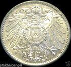 Germany - German Empire - German 1915D Silver Mark Coin - Rare High Grade