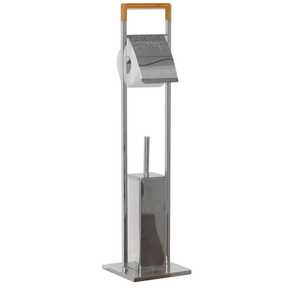 Bambus - Badezimmer Badezimmer Badezimmer Toilettenrollenhalter - Silber Natürlich baba72   Für Ihre Wahl  e0fad0