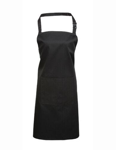 waschbar bis 60°C Premier Workwear Latzschürze Deluxe mit Tasche easy-care