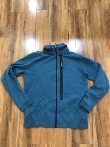 Nike Tech Fleece Hoodie Jacket Large Rift Blue Hea