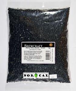 Bottle Sealing BLACK WAX BEADS - Dressing Wine Beer Bottles Cork BrewCraft Brand 9323318004661 ...