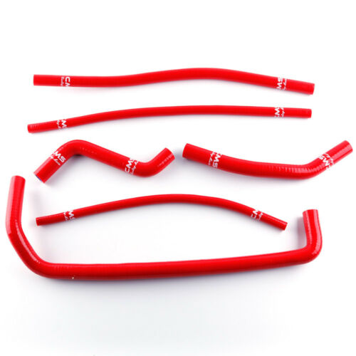 Yellow Silicone Cooling Radiator Hose Pipe Kit for Can Am DS450 DS 450 2008-2015