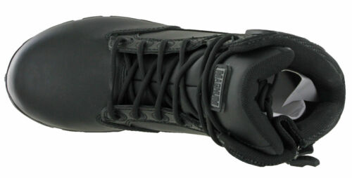 Magnum Police Safety Army Strike Force Leather 6.0 Boots Lightweight UK 7-14