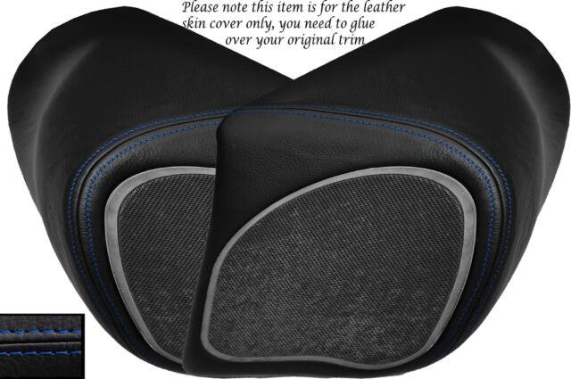 BLACK STITCH CUSTOM FITS BMW K 1200 LT 99-09 REAR LEATHER SEAT COVER