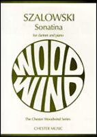 Sonatina Clarinet And Piano Book 014032281