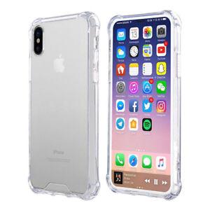Fuer-iPhone-X-Transparent-Case-Schutz-Huelle-Clear-Cover-Silikon-Handyhuelle