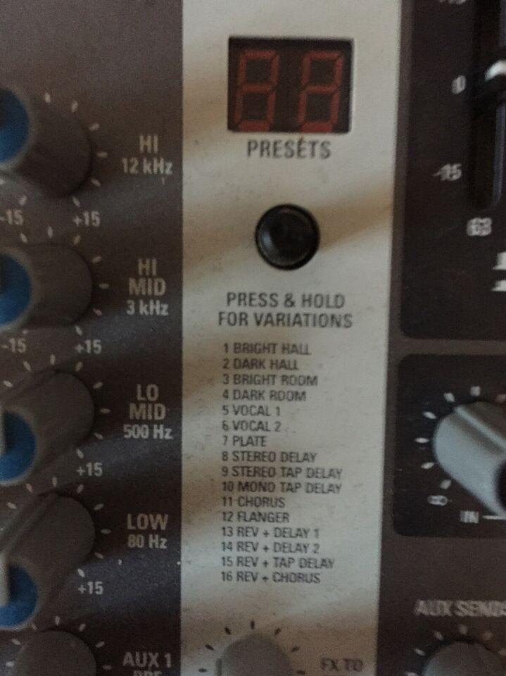 Mixer, Proel M1622USB