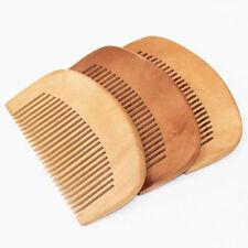 1xNatural Bamboo Wooden Eco-Friendly Detangling Healthy Hair Brush Portable Comb