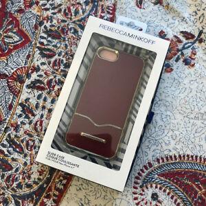 rebecca minkoff casemate leather coque iphone 6