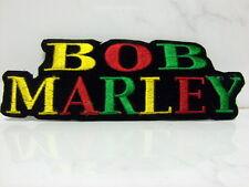 Aufnäher Aufbügler Patch BOB MARLEY - 12,5  x  4,5  cm