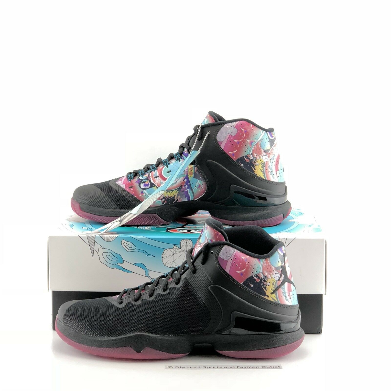 Nike jordan super.fly po cny formatori metà - moda casual - metà () bbafbd