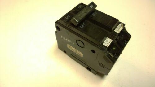GENERAL ELECTRIC GE THQL2115 15 AMP 2 Pole Circuit Breaker