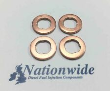 VW Caddy 2.0 TDI 4Motion Common Rail Diesel Injector Washers/Seals x 4
