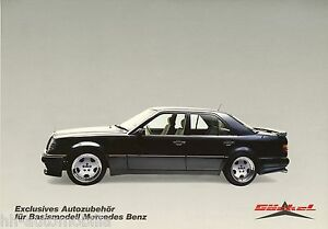 1447MB-Mercedes-Goeckel-300E-W-124-Limousine-Prospekt-Bildprospekt-brochure