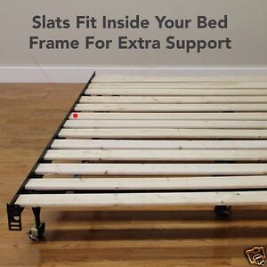 Solid Wood Slats For Bed Frame Or Platform Beds Support