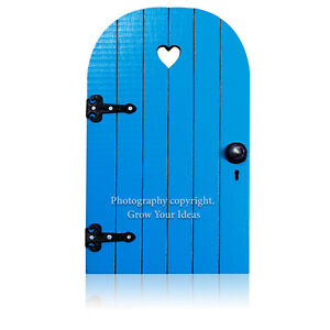Blue-Hand-Made-Fairy-door-for-tooth-fairy-surprise-or-fairy-garden