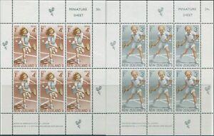 New-Zealand-1972-SG989-Health-Tennis-set-of-2-MS-MNH