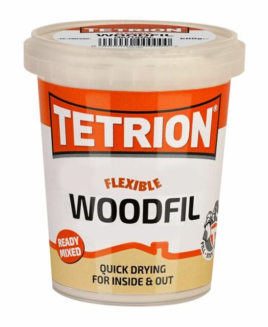 Tetrion TWF606 Ready Mixed Wood Filler Cracks Remover 600g For Interior Exterior
