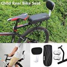 4 in 1 Bike Bicycle Rear Seat Rack Cushion Kids Child Backrest Armrest Footrests