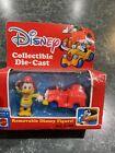 Walt Disney Mattel Collectible Diecast Donald Duck in Firetruck *NEW OLD STOCK*