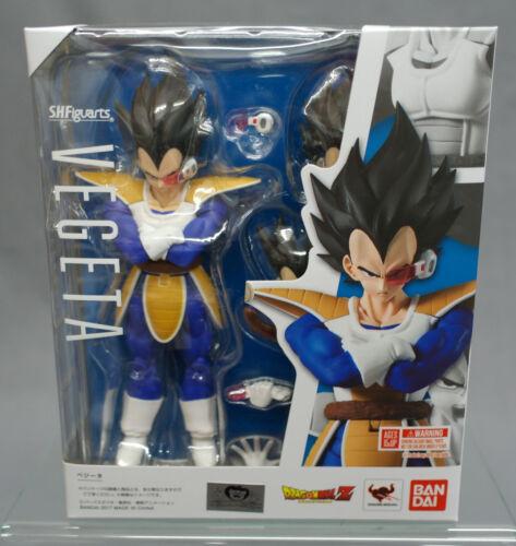 Figuarts Vegeta Scouter 2.0 Saiyan Dragon Ball Z DBZ Bandai Japan NEW*** SH S.H