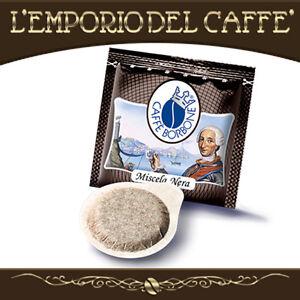 Caffe-Borbone-Miscela-Nera-600-Cialde-carta-Ese-44mm-100-Originale