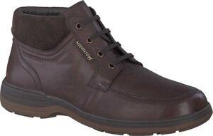 Mephisto-Darwin-Moc-Toe-Boot-Men-039-s-in-Chestnut-Dark-Brown-Suede-Leather-NEW
