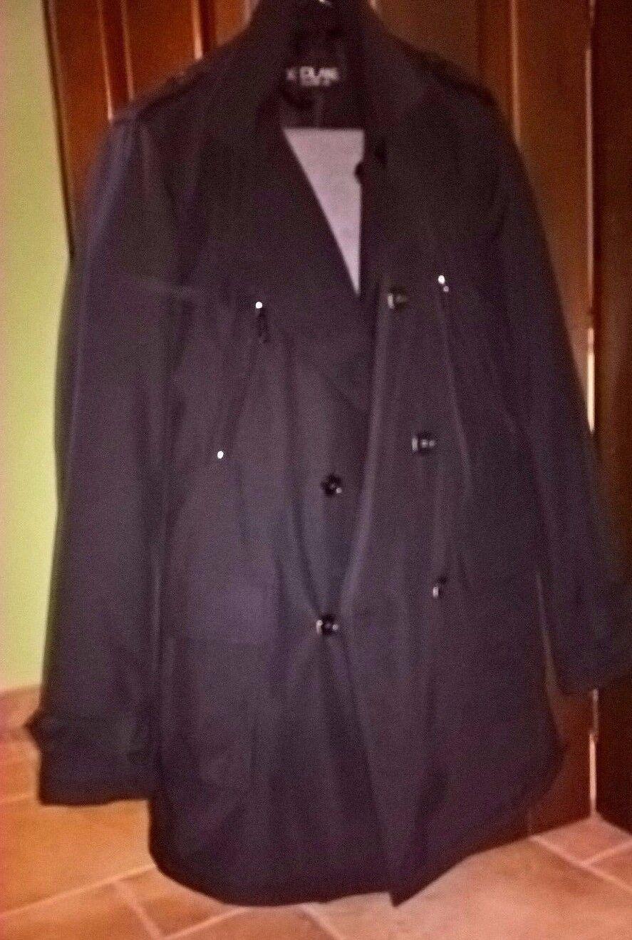 Cappotto Trech soprabito 48 L black