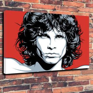 Image Is Loading Jim Morrison The Doors Pop Art Printed Canvas
