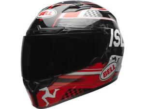 CASQUE-INTEGRAL-BELL-QUALIFIER-DLX-ISLE-OF-MAN-CHOIX-TAILLE-XS-XXL