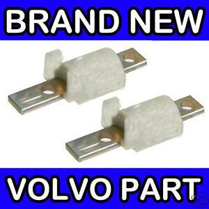 Volvo-S60-Steering-Limiter-Lock-Stop-White-Front-Wishbone-17-5mm-x2-Pair