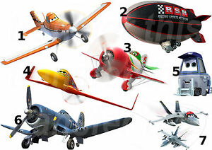 Marvelous Image Is Loading DISNEY PLANES STICKER WALL DECAL OR IRON ON  Part 20