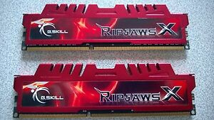 GSkill-RIPJAWS-Red-16Gb-2x8gb-DDR3-1600Mhz-CL10-XMP-F3-12800CL10S-8GBXL