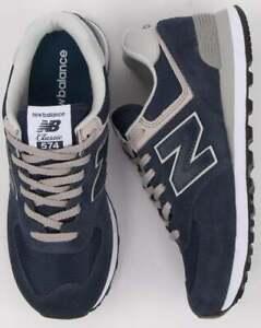 new balance 574 blu scuro