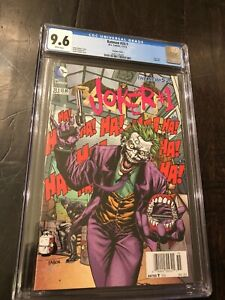 Batman-23-1-CGC-9-6-2-D-Cover-Variant-Joker-New-52-1st-Print-Rare-Newsstand-WOW