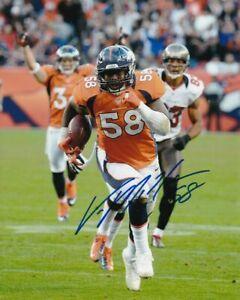 Von Miller Broncos Signed Autographed 8X10 Photo REPRINT