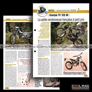 jbt33-006-SCORPA-TY-125-SF-Modele-2006-Fiche-Moto-Trial-Motorcycle-Card