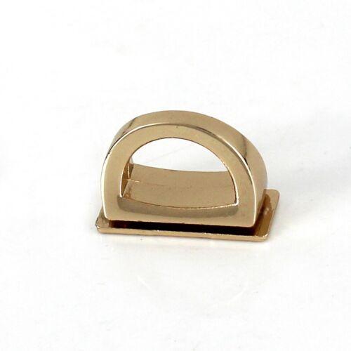 1 Pair Bag Side Anchor hanger Clamps Hooks Leather craft Hagbag Bag Hardware