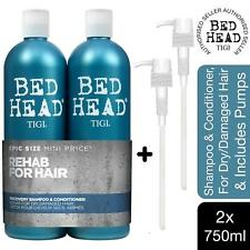 Bed Head by Tigi Urban Antidotes Recovery Shampoo &Conditioner 2x750ml with pump