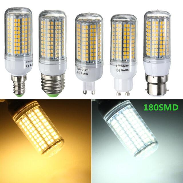 E27/E14/GU10/G9/B22 110/220V 3/5/7/9/15/18/30W LED 2835-SMD Corn Light Bulb Lamp