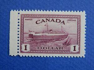 "#273 MNH  $1 red violet ""Train Ferry, PEI Q.S.M.V. Abegweit""  CV=$45.00"