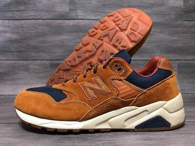 big sale 6fdb1 1c1f4 New Balance 580 Classic Sneaker MT580SB Men's Size 11 Brown Blue Ginger  Glazed | eBay