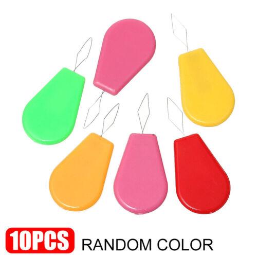 Farbe zufällig Nadeleinfädler Einfädelhilfe 10 Stück
