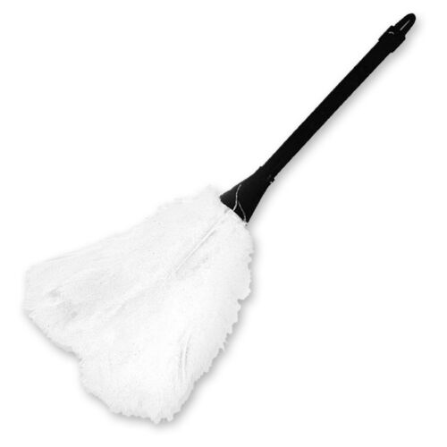 Pink or White or Deluxe Feather Duster French Maid Costume Accessory FREE SHIP!