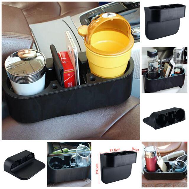 Universal Black Cup Holder Car Storage Drinking Bottle Can Mug Mount Stand Uk