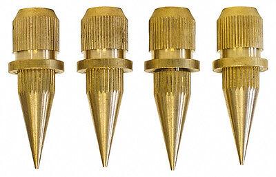 DYNAVOX Sub-Watt-Absorber 4er Set / Messing / Spikes / 4 Stück / NEU / OVP