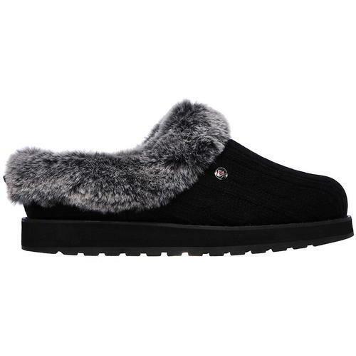 2018 Schuhe größte Auswahl attraktive Mode Womens Skechers Keepsakes - Ice Angel Slip on Plush Foam Slippers Sizes 4  to 8 UK 5